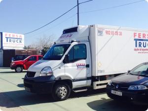 Alquiler de furgonetas en Villa del Rio